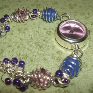 Beaded Watch Bracelet Jewelry Project