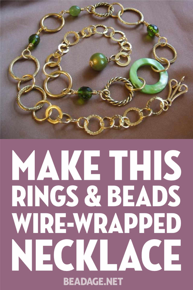 wire-wrapped-rings-necklace