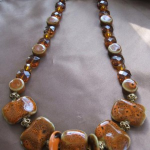 Senegal Sunset Necklace