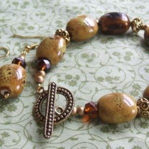 Easy Bracelet and Earring Set