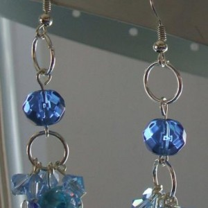Ocean Breeze Crystal Earrings