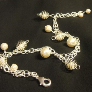 Summer Pearls Anklet