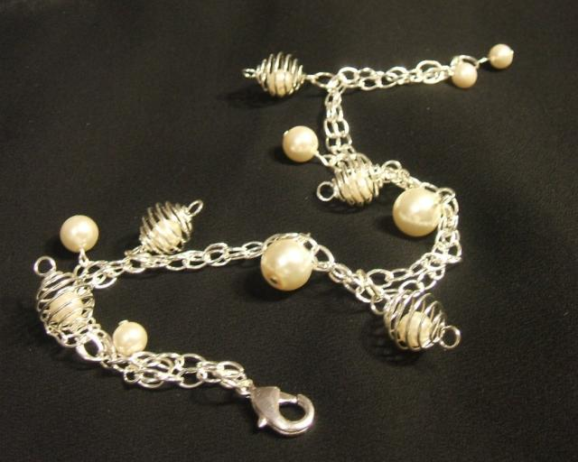 Snowy Summer Anklet