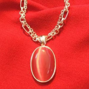 Double Chain and Pendant Necklace