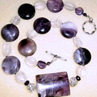 Winter Amethyst Necklace Project