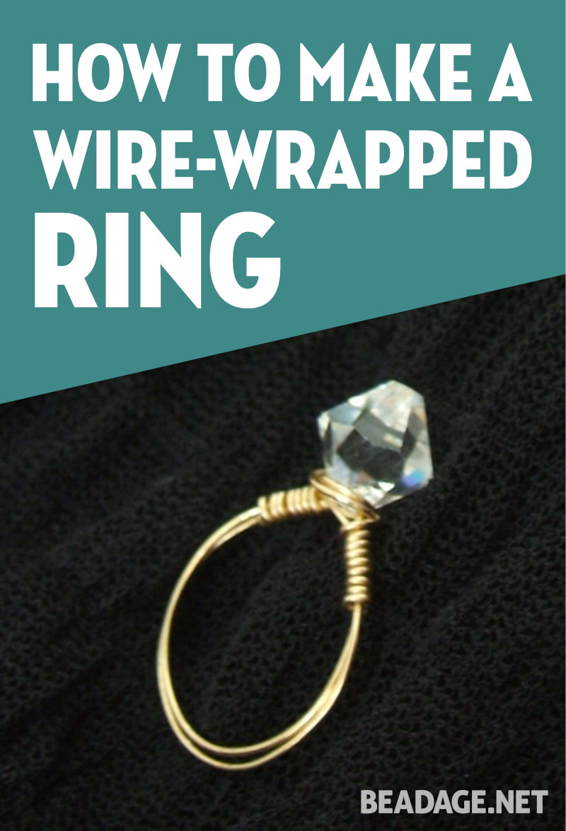 How to Make a Wire-Wrapped Ring | Beadage