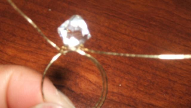 Wire-wrapped Ring Step 4