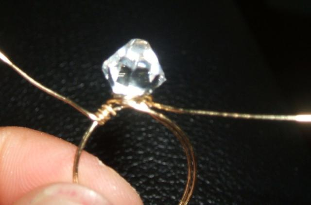 Wire-wrapped Ring Step 5
