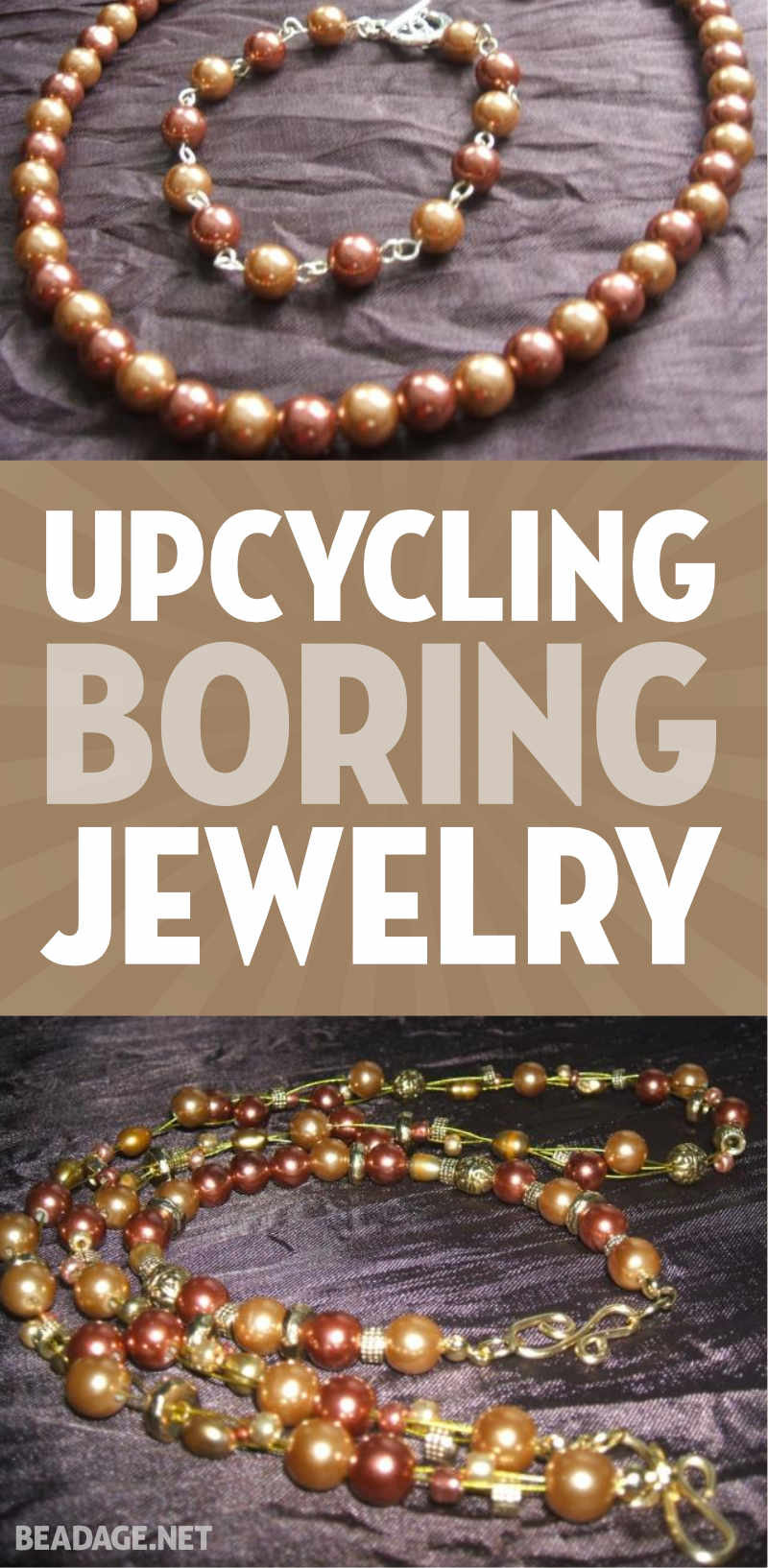 Upcycling Boring Jewelry