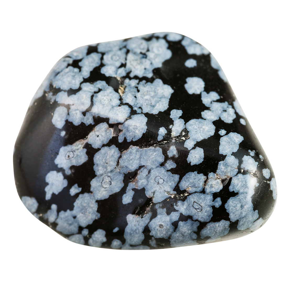 White Snowflake Obsidian : Snowflake obsidian meaning and properties beadage