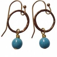 Belle Azure Earrings Project
