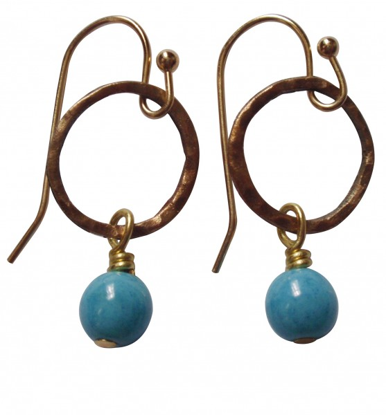 Belle Azure Earrings