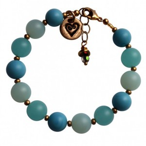 Just Beachy Sea Glass Bracelet