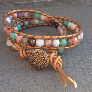 Wrapped Bracelet Jewelry Idea