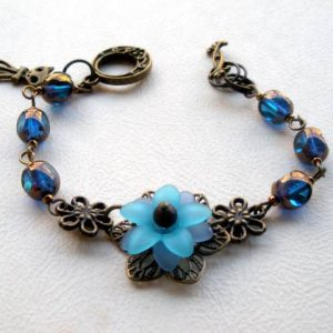 Maya Czech Glass Bracelet