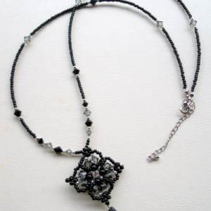 Midnight Bloom Necklace Project Idea