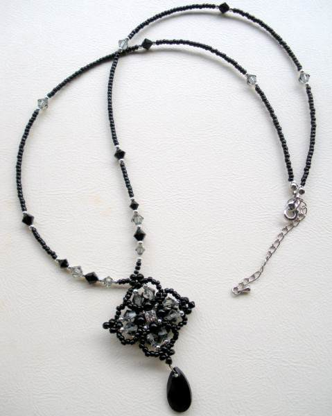 Midnight Bloom Necklace Project