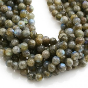 Shop Labradorite Faceted Beads! Gorgeous Labradorite, High Quality in Faceted Round, 4mm, 6mm, 8mm, 10mm- In Full 15.5 Inch Strands | Natural genuine faceted Labradorite beads for beading and jewelry making.  #jewelry #beads #beadedjewelry #diyjewelry #jewelrymaking #beadstore #beading #affiliate #ad