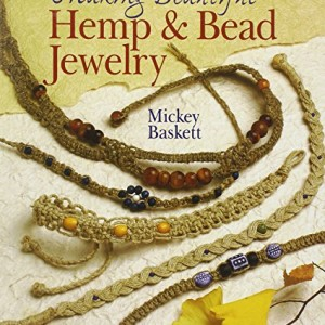 Shop Learn Beading - Books, Kits & Tutorials! Making Beautiful Hemp & Bead Jewelry | Shop jewelry making and beading supplies, tools & findings for DIY jewelry making and crafts. #jewelrymaking #diyjewelry #jewelrycrafts #jewelrysupplies #beading #affiliate #ad