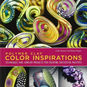 Polymer Clay Color Inspirations: Techniques and Jewelry Projects for Creating Successful Palettes | Shop jewelry making and beading supplies, tools & findings for DIY jewelry making and crafts. #jewelrymaking #diyjewelry #jewelrycrafts #jewelrysupplies #beading #affiliate #ad