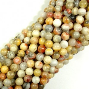Shop Crazy Lace Agate Beads! Crazy Lace Agate Beads, Round, 4mm (4.5 mm), 15.5 Inch, 1 strand, Approx 90 beads, Hole 0.5 mm, A+ quality (202054014) | Natural genuine beads Agate beads for beading and jewelry making.  #jewelry #beads #beadedjewelry #diyjewelry #jewelrymaking #beadstore #beading #affiliate #ad