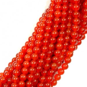 Shop Carnelian Beads! Carnelian Beads, Round, 4mm, 15 Inch, Full strand, Approx 92 beads, Hole 1mm, A quality (182054021) | Natural genuine beads Carnelian beads for beading and jewelry making.  #jewelry #beads #beadedjewelry #diyjewelry #jewelrymaking #beadstore #beading #affiliate #ad