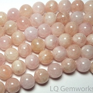 15″ MORGANITE Pink AQUAMARINE BERYL 12mm Round Beads NATURAL /M12 | Shop jewelry making and beading supplies, tools & findings for DIY jewelry making and crafts. #jewelrymaking #diyjewelry #jewelrycrafts #jewelrysupplies #beading #affiliate #ad