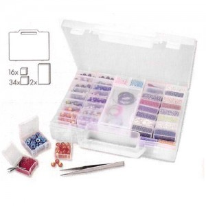 Shop Storage for Beading Supplies! Bead Organizer Carry Case – BC499 | Shop jewelry making and beading supplies, tools & findings for DIY jewelry making and crafts. #jewelrymaking #diyjewelry #jewelrycrafts #jewelrysupplies #beading #affiliate #ad