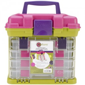 Shop Storage for Beading Supplies! Creative Options Grab N' Go Rack System | Shop jewelry making and beading supplies, tools & findings for DIY jewelry making and crafts. #jewelrymaking #diyjewelry #jewelrycrafts #jewelrysupplies #beading #affiliate #ad