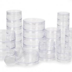 Darice Round Bead Caddy, 6 Stacks (30 Count Total)