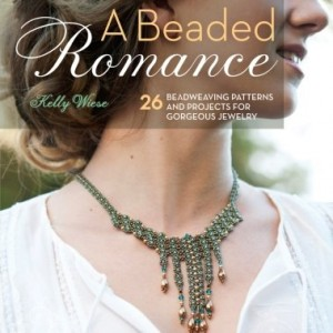 A Beaded Romance: 26 Beadweaving Patterns and Projects for Gorgeous Jewelry | Shop jewelry making and beading supplies, tools & findings for DIY jewelry making and crafts. #jewelrymaking #diyjewelry #jewelrycrafts #jewelrysupplies #beading #affiliate #ad
