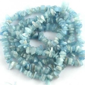 BAROQUE NUGGET CHIP NATURAL AQUAMARINE 3X6-5X10MM GEMSTONE LOOSE BEADS 36″ New