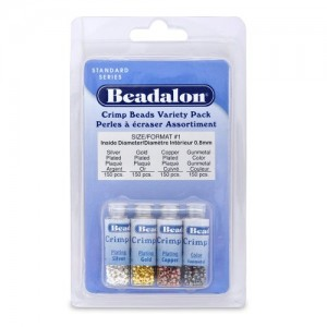Shop Crimp Beads! Beadalon Crimp Bead Variety Pack | Shop jewelry making and beading supplies, tools & findings for DIY jewelry making and crafts. #jewelrymaking #diyjewelry #jewelrycrafts #jewelrysupplies #beading #affiliate #ad