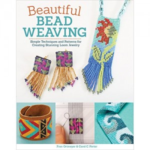 Shop Learn Beading - Books, Kits & Tutorials! Beautiful Bead Weaving: Simple Techniques and Patterns for Creating Stunning Loom Jewelry | Shop jewelry making and beading supplies, tools & findings for DIY jewelry making and crafts. #jewelrymaking #diyjewelry #jewelrycrafts #jewelrysupplies #beading #affiliate #ad