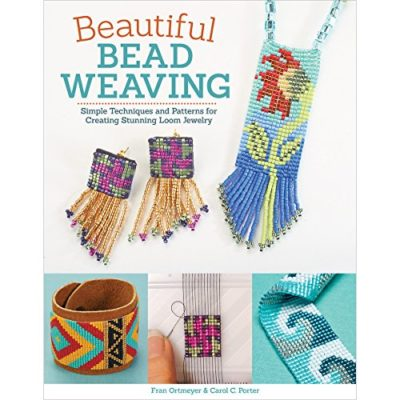 Shop Books About Jewelry Making! Beautiful Bead Weaving: Simple Techniques and Patterns for Creating Stunning Loom Jewelry | Shop jewelry making and beading supplies, tools & findings for DIY jewelry making and crafts. #jewelrymaking #diyjewelry #jewelrycrafts #jewelrysupplies #beading #affiliate #ad