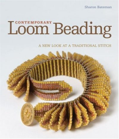 Shop Books About Jewelry Making! Contemporary Loom Beading: A New Look at a Traditional Stitch | Shop jewelry making and beading supplies, tools & findings for DIY jewelry making and crafts. #jewelrymaking #diyjewelry #jewelrycrafts #jewelrysupplies #beading #affiliate #ad