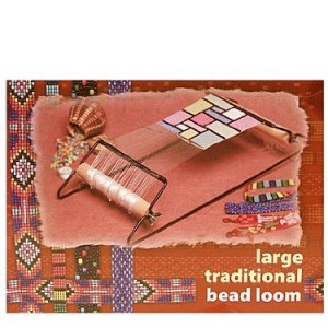 Shop Learn Beading - Books, Kits & Tutorials! Cousin Large Traditional Bead Loom kit | Shop jewelry making and beading supplies, tools & findings for DIY jewelry making and crafts. #jewelrymaking #diyjewelry #jewelrycrafts #jewelrysupplies #beading #affiliate #ad