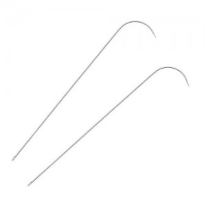 Shop Beading Needles! Curved Needles for Spin and String Bead Loader Stringing Tool (2) | Shop jewelry making and beading supplies, tools & findings for DIY jewelry making and crafts. #jewelrymaking #diyjewelry #jewelrycrafts #jewelrysupplies #beading #affiliate #ad