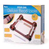 Shop Jewelry Making Tools! Darice Large Oak Bead Loom with Legs | Shop jewelry making and beading supplies, tools & findings for DIY jewelry making and crafts. #jewelrymaking #diyjewelry #jewelrycrafts #jewelrysupplies #beading #affiliate #ad