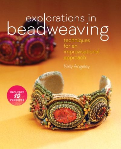Shop Books About Jewelry Making! Explorations in Beadweaving: Techniques for an Improvisational Approach | Shop jewelry making and beading supplies, tools & findings for DIY jewelry making and crafts. #jewelrymaking #diyjewelry #jewelrycrafts #jewelrysupplies #beading #affiliate #ad