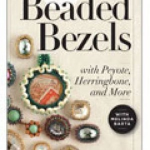 How to Stitch Beaded Bezels | Shop jewelry making and beading supplies, tools & findings for DIY jewelry making and crafts. #jewelrymaking #diyjewelry #jewelrycrafts #jewelrysupplies #beading #affiliate #ad