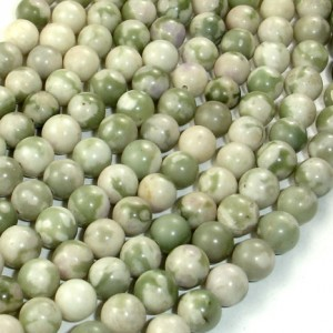 Peace Jade Beads, Round, 6 Mm, 16 Inch, Full Strand, Approx 64 Beads, Hole 0.8 Mm (338054002)