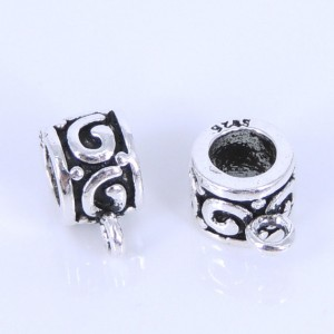 2 PCS Sterling Silver 925 Vintage Lucky Connector Bail WSP293 Wholesale: See Discount Coupons in Item Details | Shop jewelry making and beading supplies, tools & findings for DIY jewelry making and crafts. #jewelrymaking #diyjewelry #jewelrycrafts #jewelrysupplies #beading #affiliate #ad