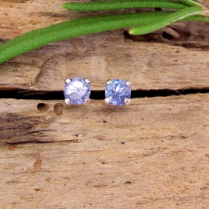 Shop Tanzanite Earrings! Tanzanite Studs – Genuine Tanzanite Stud Earrings, Real 14k Gold, Platinum, or Sterling Silver – 3mm, 4mm | Natural genuine Tanzanite earrings. Buy crystal jewelry, handmade handcrafted artisan jewelry for women.  Unique handmade gift ideas. #jewelry #beadedearrings #beadedjewelry #gift #shopping #handmadejewelry #fashion #style #product #earrings #affiliate #ad