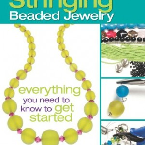 Shop Learn Beading - Books, Kits & Tutorials! The Absolute Beginners Guide: Stringing Beaded Jewelry | Shop jewelry making and beading supplies, tools & findings for DIY jewelry making and crafts. #jewelrymaking #diyjewelry #jewelrycrafts #jewelrysupplies #beading #affiliate #ad