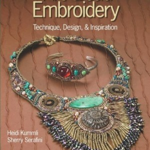 The Art of Bead Embroidery | Shop jewelry making and beading supplies, tools & findings for DIY jewelry making and crafts. #jewelrymaking #diyjewelry #jewelrycrafts #jewelrysupplies #beading #affiliate #ad