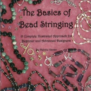 The Basics of Bead Stringing: A Complete Illustrated Approach for Beginner and Advanced Designers | Shop jewelry making and beading supplies, tools & findings for DIY jewelry making and crafts. #jewelrymaking #diyjewelry #jewelrycrafts #jewelrysupplies #beading #affiliate #ad