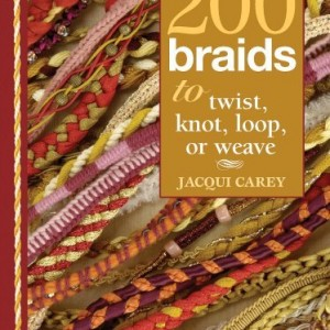 200 Braids to Twist, Knot, Loop, or Weave | Shop jewelry making and beading supplies, tools & findings for DIY jewelry making and crafts. #jewelrymaking #diyjewelry #jewelrycrafts #jewelrysupplies #beading #affiliate #ad
