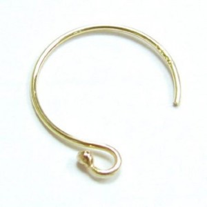 4 pcs 14k Gold Filled Ear Wire French Hook Dot Earwires / Findings / Yellow Gold