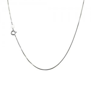 925 Sterling Silver .8MM Box Chain